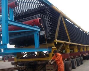 港口物流锅炉模块运输