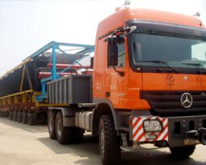 港口物流锅炉模块运输2