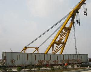 港口物流船运吊装作业