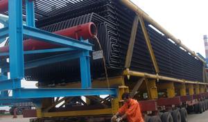 大型锅炉模块运输