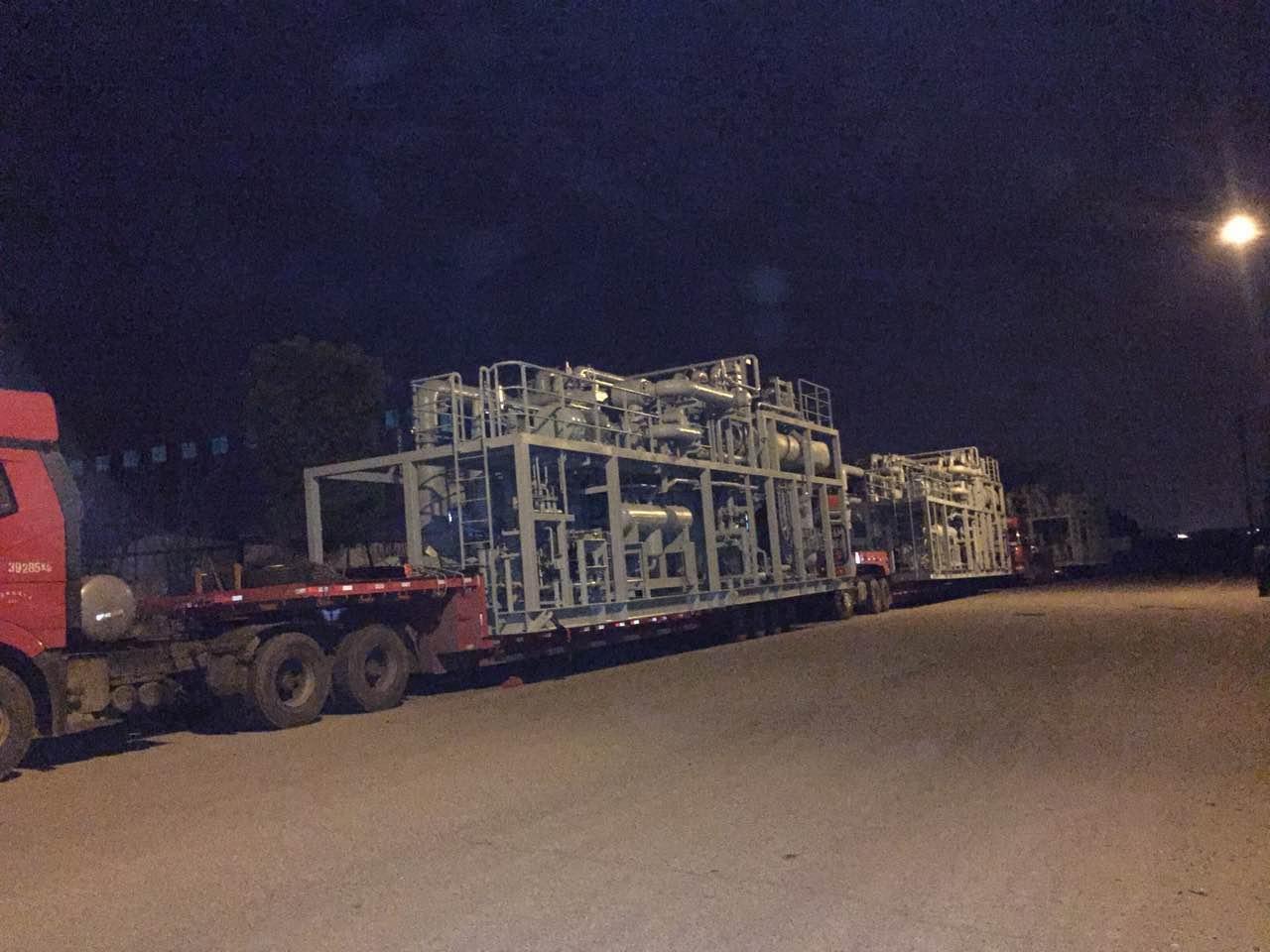 港口物流瓦锡栏模块项目运输