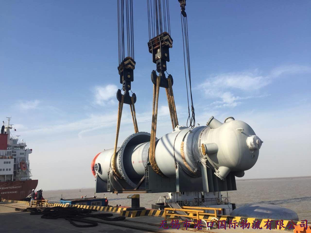 港口国际物流大型化工设备运输