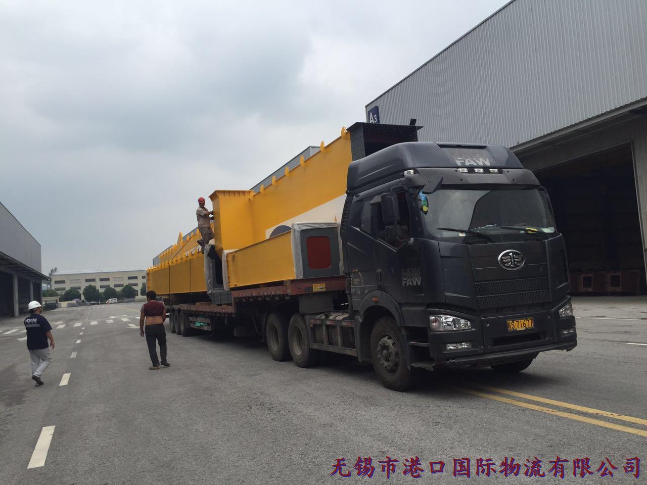 大型起重设备出口案例