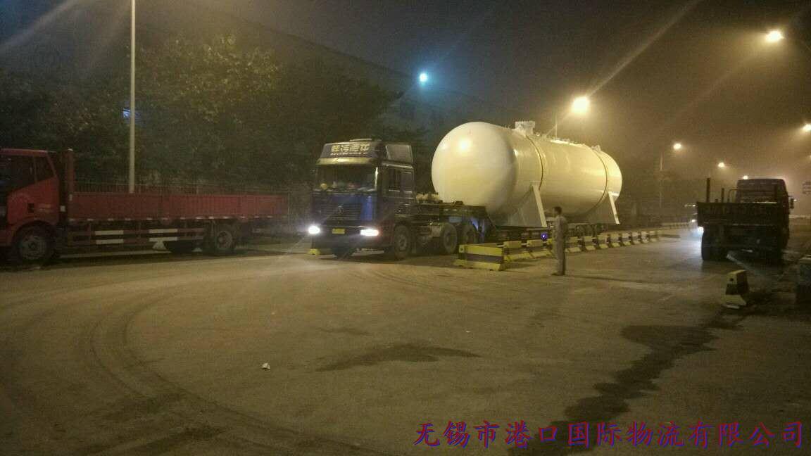 大件运输,大型甲板罐运输